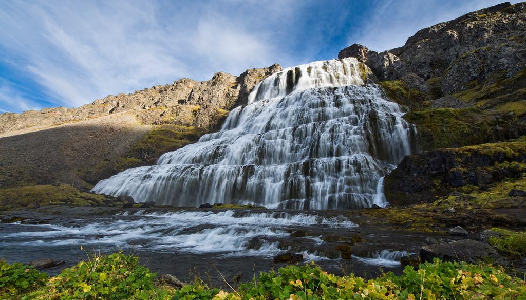 Dynjandi (Fjallfoss): Superlative waterfall in a Land of