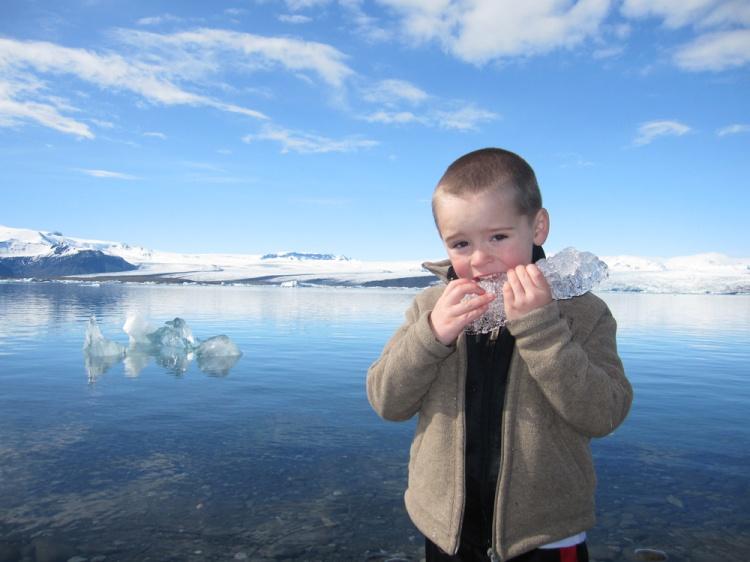 Jökulsarlon Glacial lagoon