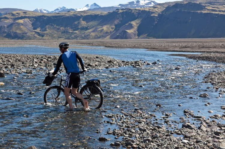 Cycling Iceland