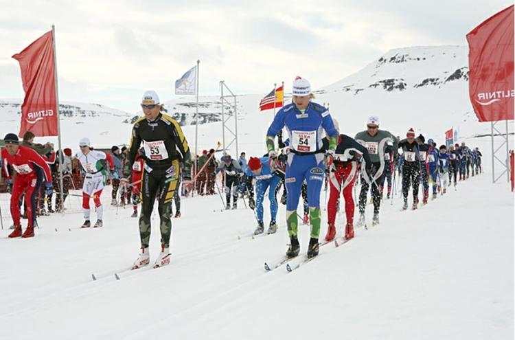 Fossavatn Skiing