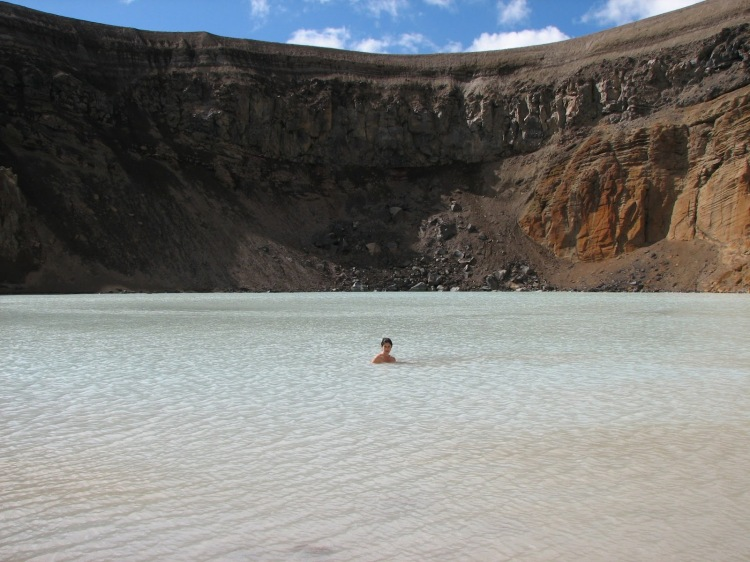 askja caldera excursion